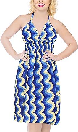 Women/'s Bandeau Strapless Dress Midi Skirt Summer Beach Holiday Swing Sundress