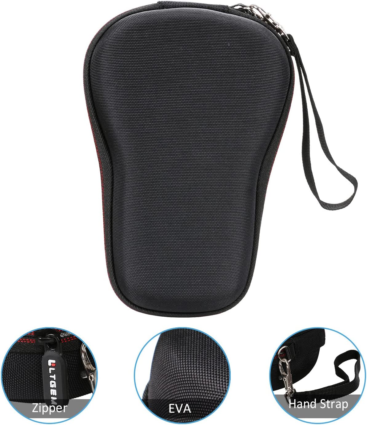 Camisin EVA Custodia rigida per DYMO LetraTag LT-100H Handheld Label Maker Viaggio Protettiva Borsa di Immagazzinaggio