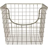 Spectrum Diversified Scoop Storage Basket, Small, Satin Nickel