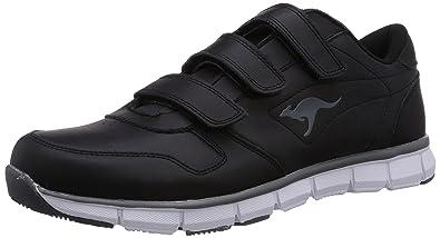 KangaROOS Unisex-Erwachsene K-Bluerun 700 V B Sneaker, Schwarz (Black/dk Grey 522), 44 EU