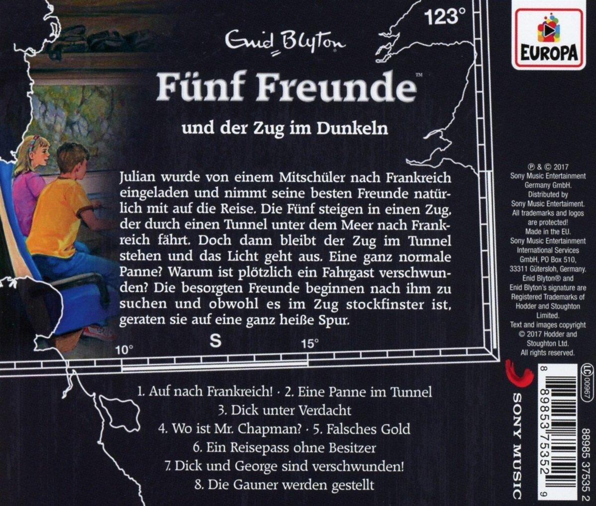 CD Fünf Freunde Folge 123 Zug im Dunkeln