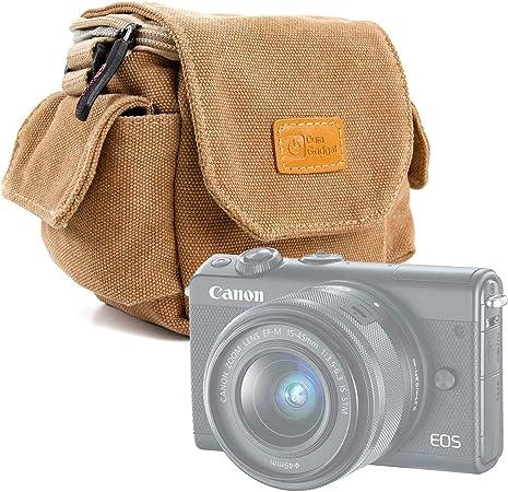 Alta qualit/à Lomo Instant con Tracolla Regolabile DURAGADGET Borsa Vintage per Fotocamera Canon EOS M100