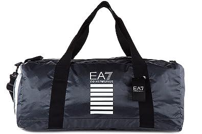 Emporio Armani EA7 sac de sports homme bandoulière train core gris ... f92f1982826