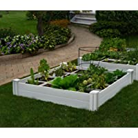 Deals on Vita Gardens VT17104 Vita Bed with GRO 48in x 7.5in Garden