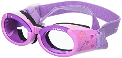 Amazon.com   Doggles ILS Small Lilac Flower Frame with Purple Lens ... 8754b917c1