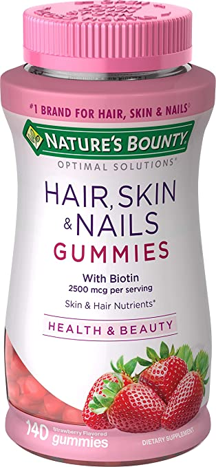 The Nature's Bounty Optimal Solutions Hair, Skin and Nails travel product recommended by Avni Parekh on Pretty Progressive.