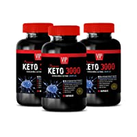 Fat Burning and Weight Loss Pills - Keto 3000 - EXOGENOUS Ketone Complex - Keto...
