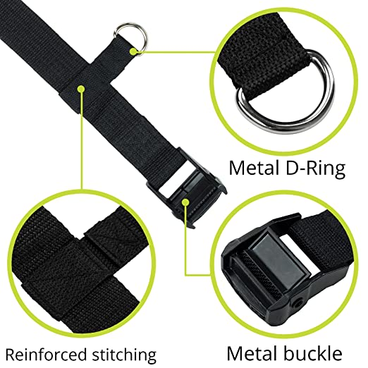 VolkGo Car Seat Travel Belt Car Seat Travel Strap to Convert Car Seat and into