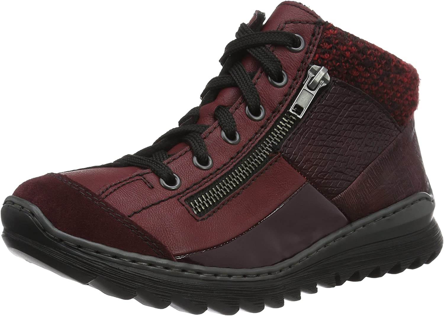 Rieker Damen M6243 High Top Sneakers