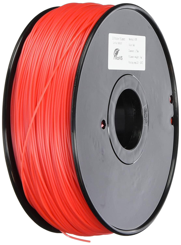 3D-Prima HIPS Filament - 1.75mm - 1 kg spool - Red: Amazon.es ...