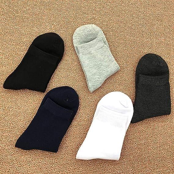 Calze da uomo comode traspiranti con tubo centrale antiscivolo Calzini Suidone cotone di calzini