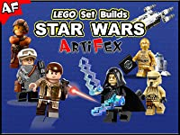 Clip: Lego Set Builds Star Wars - Artifex 4 Seasons 2017