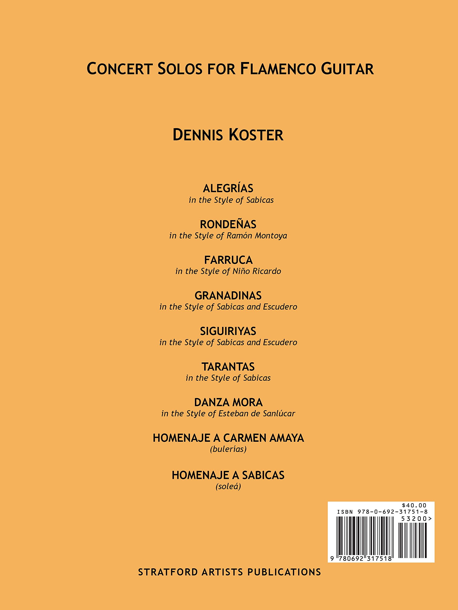 Amazon.com: The Keys to Flamenco Guitar, Part III: Concert ...