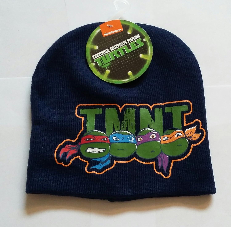 Teenage Mutant Ninja Turtles Boys Knit Beanie Hat
