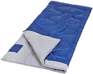 AmazonBasics - Saco de dormir, Climas moderados: Amazon.es: Deportes y aire libre
