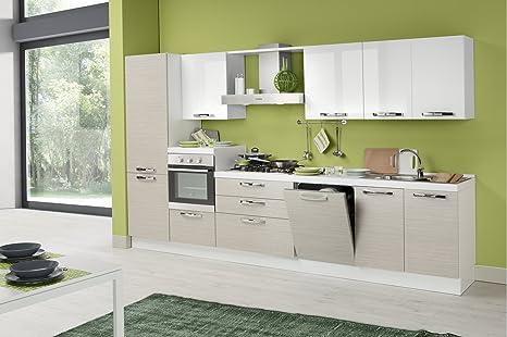 Nuovarredo Cucine Componibili.Nuovarredo Cucina Componibile Sinistra Amazon It Casa E Cucina