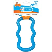 Nylabone Puppy Chew Toy, Teething Toy for Puppies, Puppy Tug Toy X-Small/Petite - Up to 15 lbs.