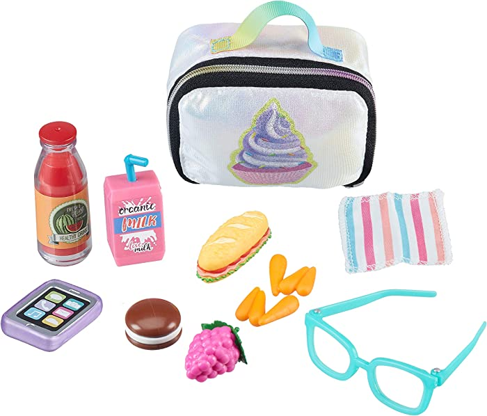 My Life As 18 Inch Doll Lunch Play Set Accessories Lunch Box Phone Food for 18