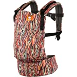 Baby Tula Multi-Position, Ergonomic Baby Carrier, Front and Back Carry for 15 – 45 pounds – Storytail (Multi-Colored Animal P