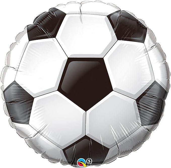 Qualatex - Globo con forma de balón de fútbol (Talla Única ...
