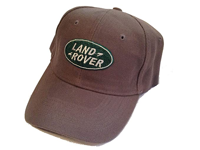 1cab6f18ae2 A Land Rover Baseball Cap Hat. Gray. New! at Amazon Men s Clothing ...