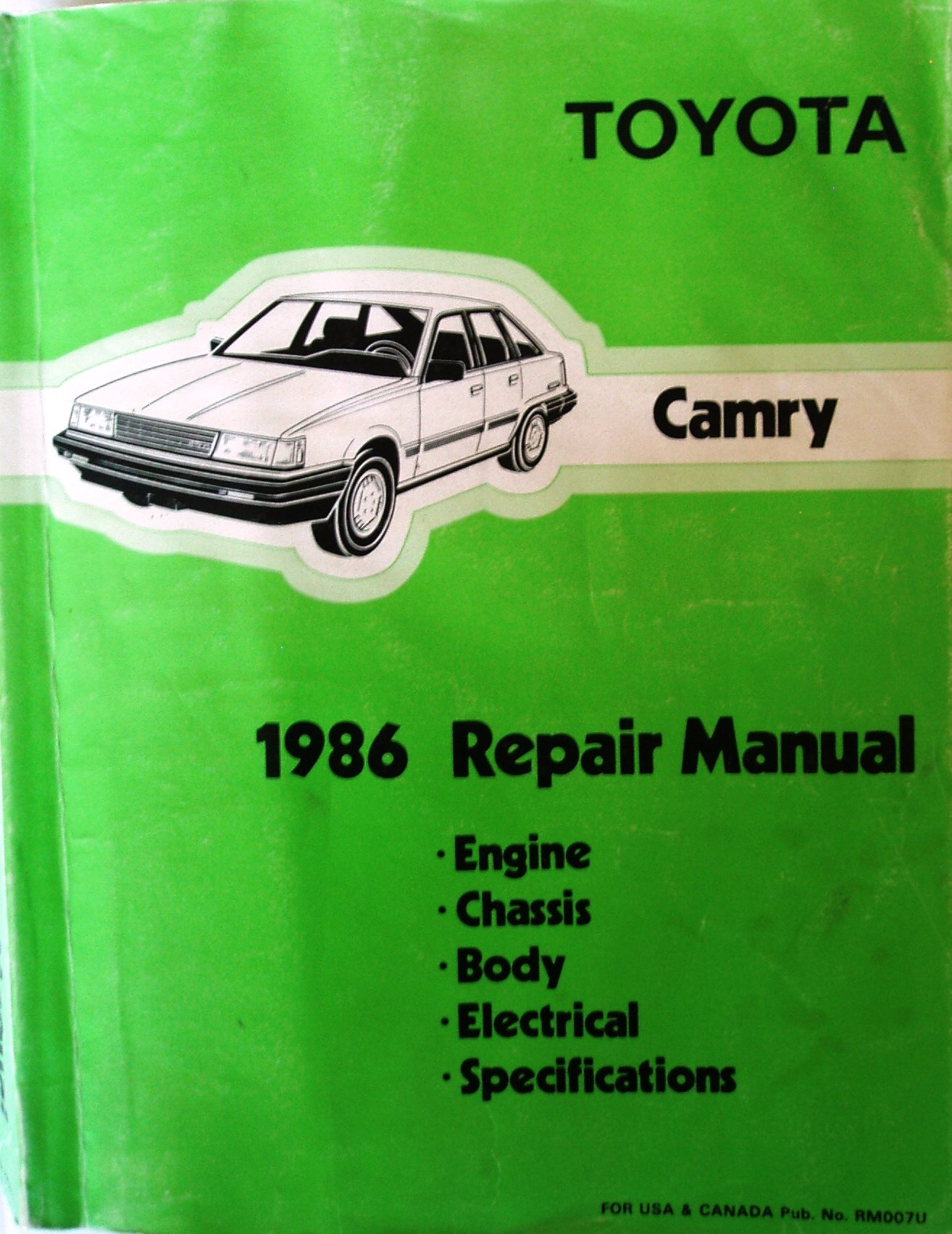 Toyota Camry 1986 Repair Manual: Toyota Motor Corporation: Amazon.com: Books