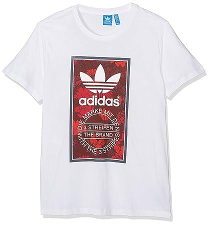 04d1ab43 adidas TI Bf Tee T-Shirt, women's, Tl Bf Tee, White, 48: adidas ...