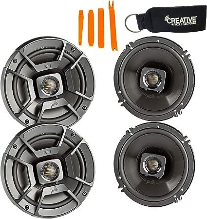 "6.5/"" 2-WAY SPEAKERS MARINE BOAT CAR 6-1//2/"" SPEAKER PAIR NEW POLK AUDIO DB652 DB"