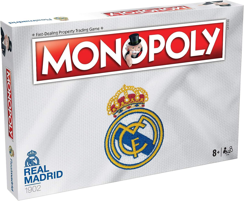 Winning Moves Juego de mesa Monopoly del Real Madrid , color/modelo surtido: Amazon.es: Juguetes y juegos