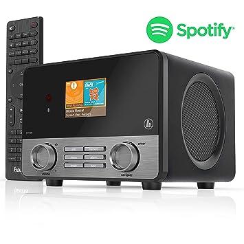 Hama Internetradio IR111MS (Spotify, WLAN/LAN, USB, Multiroom, 30  Favoritenplätze