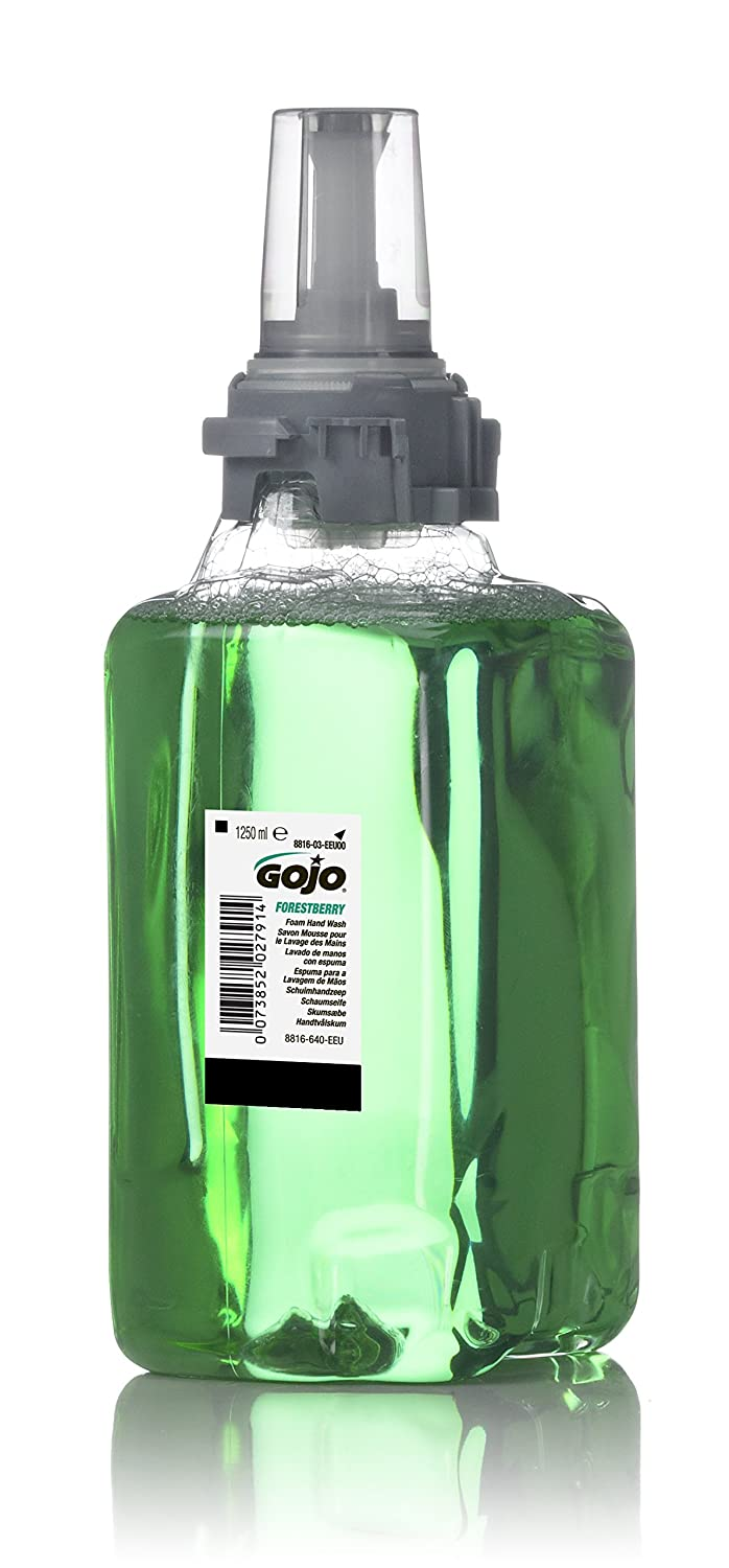 GOJO 8816-03-EEU00 ADX-12 Forestberry Foam Hand Wash, 1250 mL Refill (Pack of 3) GOJO Industries Inc.
