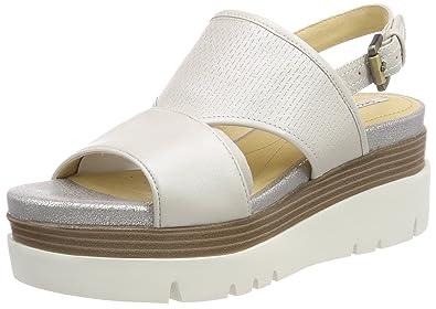 9808e53d02a Geox Women s s D Radwa B Platform Sandals  Amazon.co.uk  Shoes   Bags