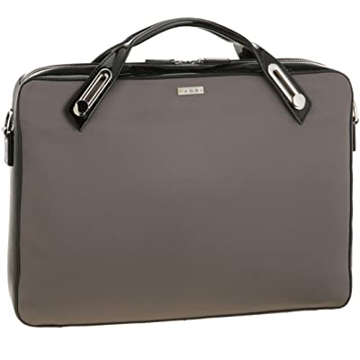 abbi PC bag Michel Satin Briefcase M size Gray