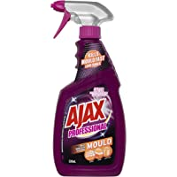 Ajax Professional Mould Remover Low Fumes Household Grade Cleaner Trigger Surface Spray Made in Australia 500mL