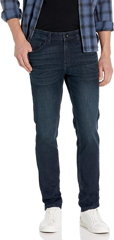 Perry Ellis Mens Skinny Stretch Denim Pant Jeans