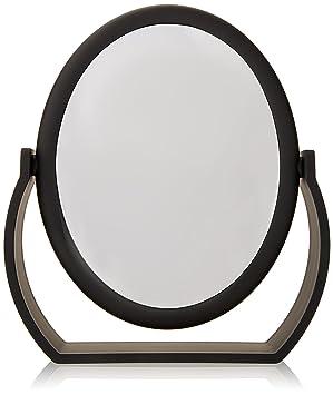 Amazon Com Danielle Midnight Matte Oval Vanity Mirror Personal Makeup Mirrors Beauty