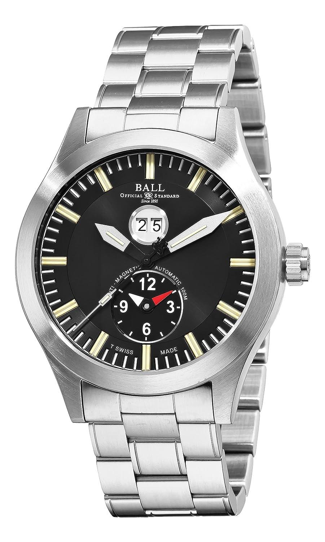 ボールメンズgm2086 C-s1-bkエンジニアマスターII Aviator GMTブラックダイヤル腕時計 B005FMVY6W