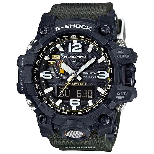 Casio G-Shock mudmaster Black-Tone Dial Resina Cuarzo Hombres del Reloj gwg1000 - 1 A3: Casio - G-Shock: Amazon.es: Relojes