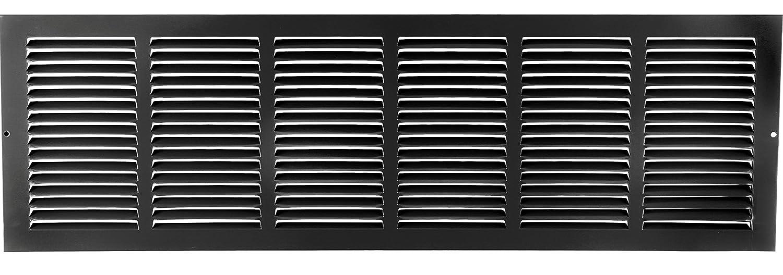30 x 8 RETURN GRILLE Flat Stamped Face HVAC Premium CECOMINOD087200 Easy Air FLow