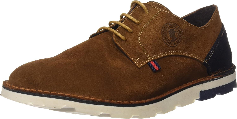 TALLA 43 EU. Coronel Tapioca C02-07, Zapatos de Cordones Brogue para Hombre