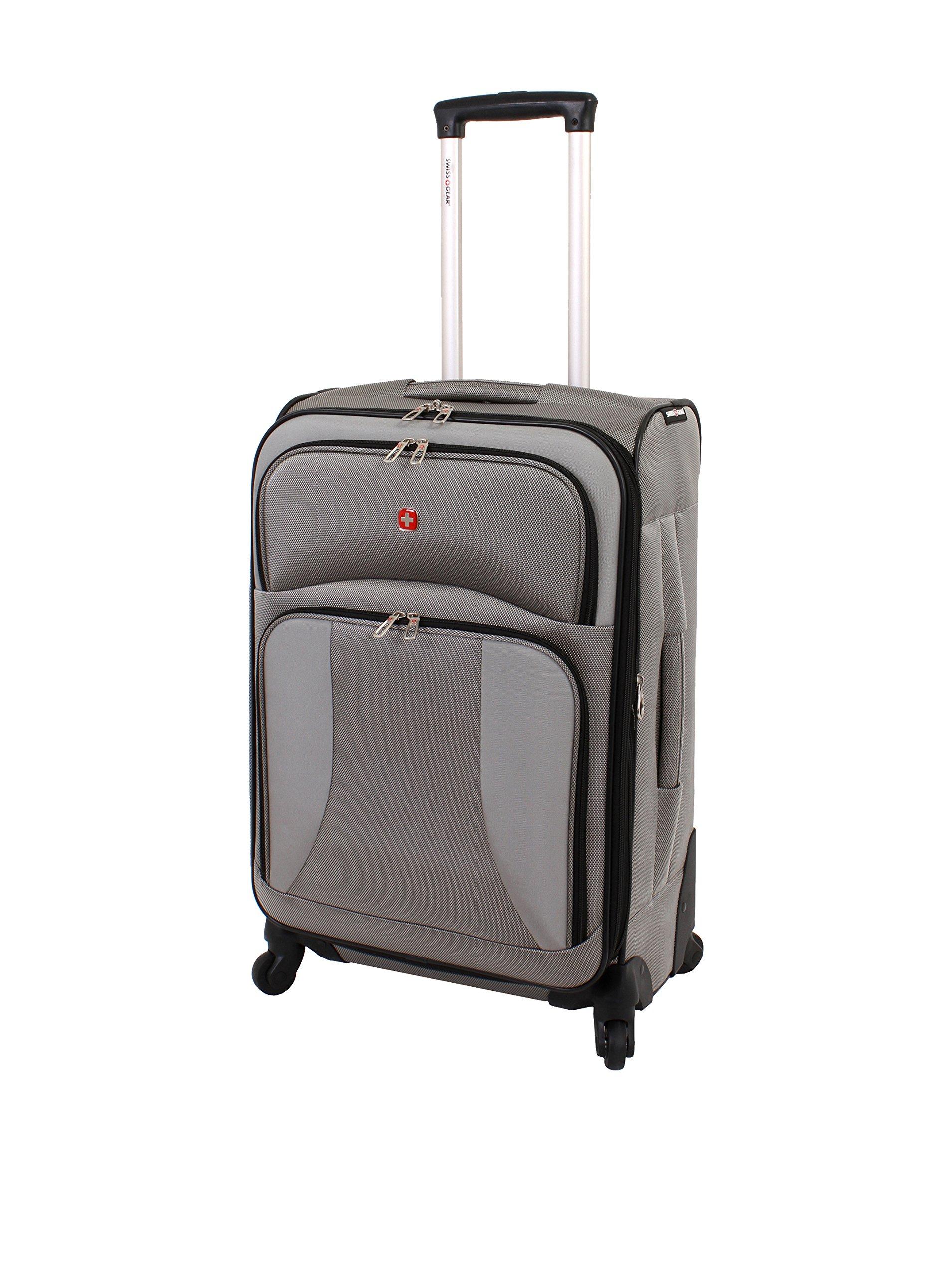 SwissGear Travel Gear 7211 24'' Spinner (Pewter)