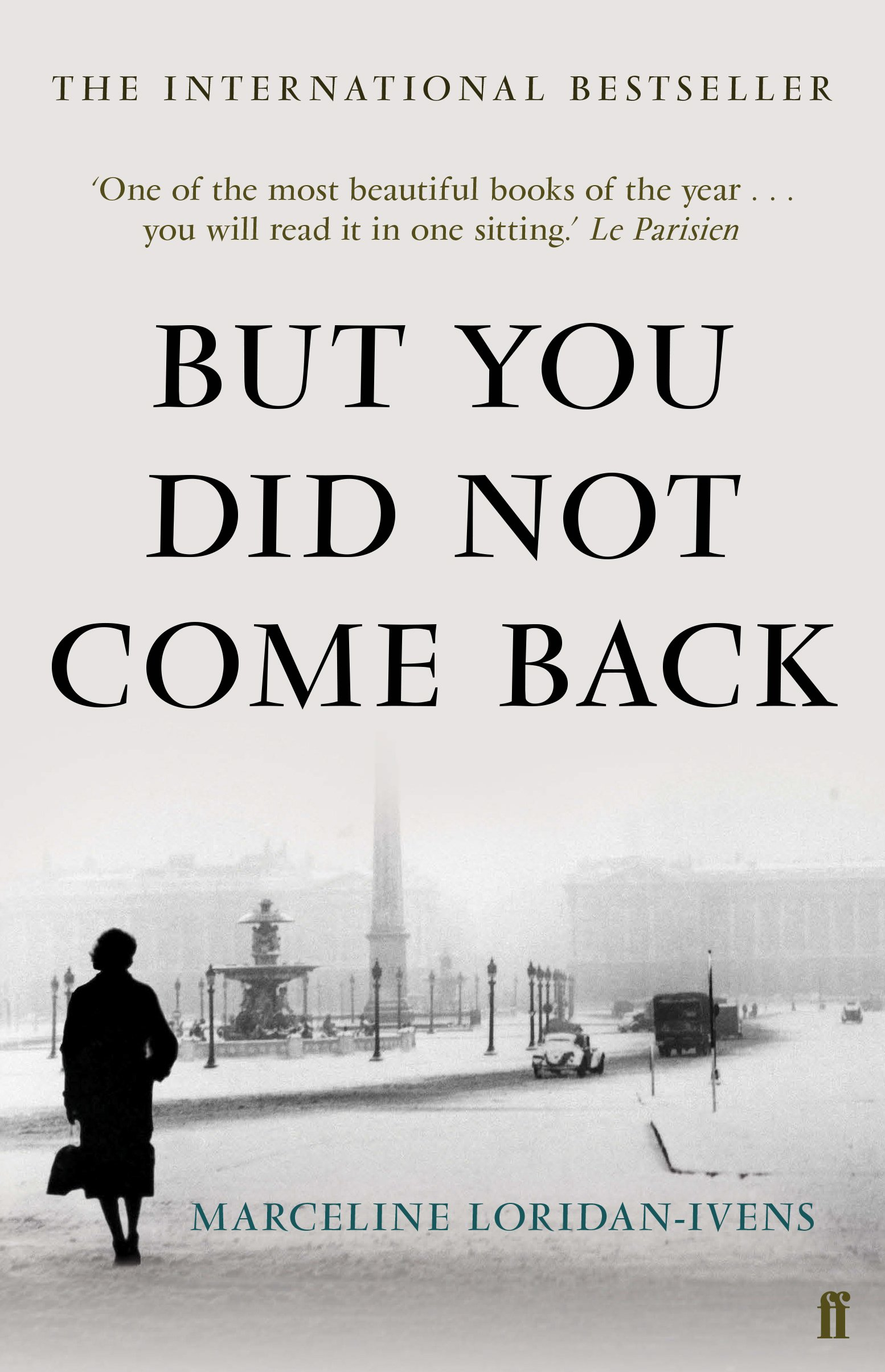 But You Did Not Come Back pdf