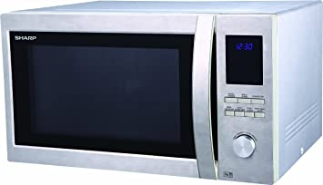 Sharp R982 Combination Oven Microwave, 42 Litre,1000 W, Stainless ...
