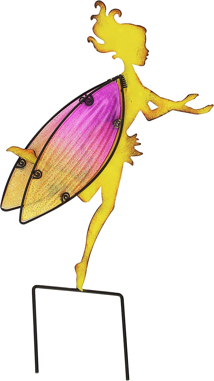 Regal Art &Gift Fairy Garden Stake, Large, Yellow