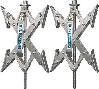 2-Pack Bal X-Chock Wheel Stabilizer