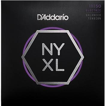 D Addario nyxl1150bt níquel Wound Cuerdas para guitarra eléctrica, tensión equilibrada Medium