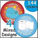144 Potty Training Reward Stickers