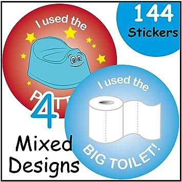 potty sticker