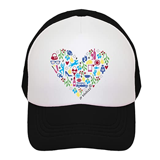 JP DOoDLES Mom Life Adult Womens Trucker Hat. Mama Baseball Cap Available  in Teal e7d7e5bab778