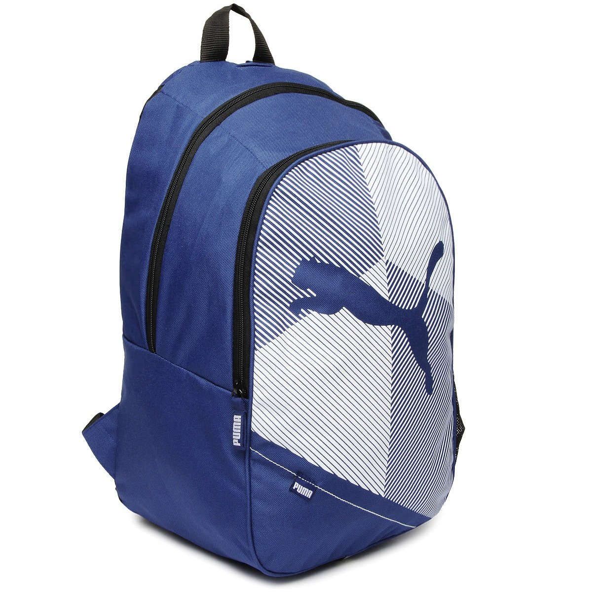 5ba59e5170 Puma Unisex Echo Plus Navy   White 27 L Backpack  Amazon.in  Bags ...